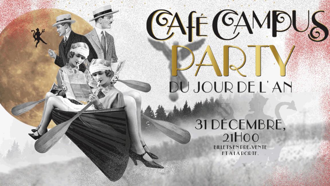 Café Campus' NYE 2020 party
