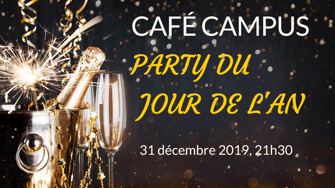 Café Campus' NYE 2020 party
