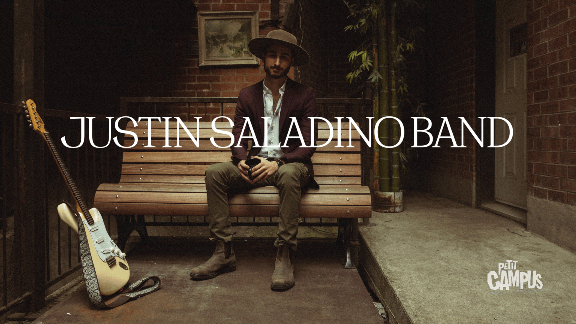 Justin Saladino Band LIVE CD show