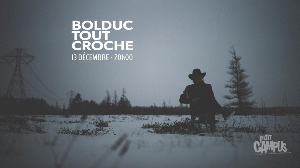 Bolduc Tout Croche - livestream concert