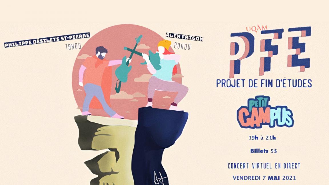 Philippe Désilets St-Pierre & Alex Frigon | concert de fin d'études virtuel