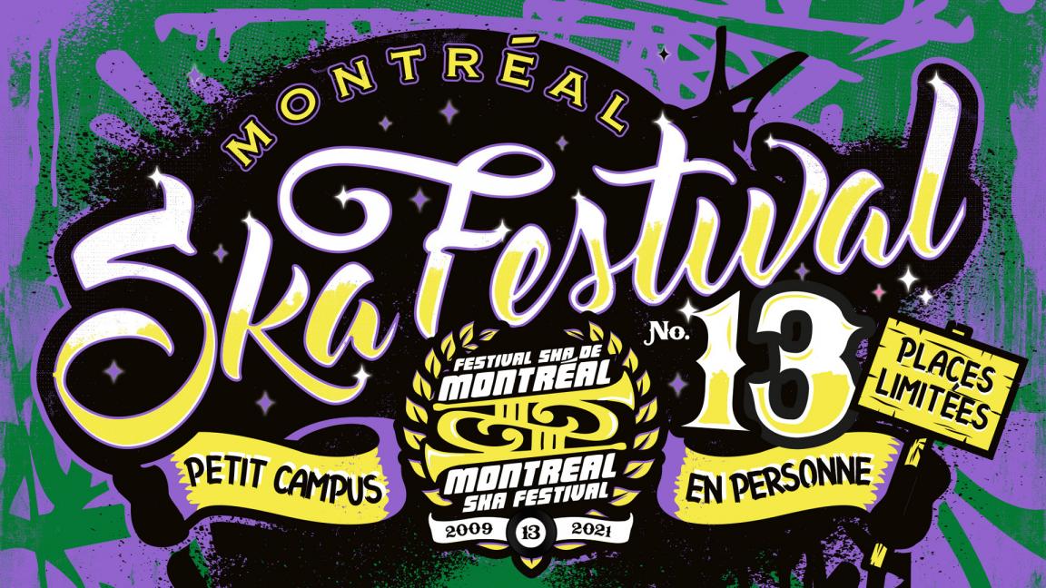 Montréal Ska Fest #13 : Danny Rebel & the KGB + Les Happycuriens + Alex Beatdown