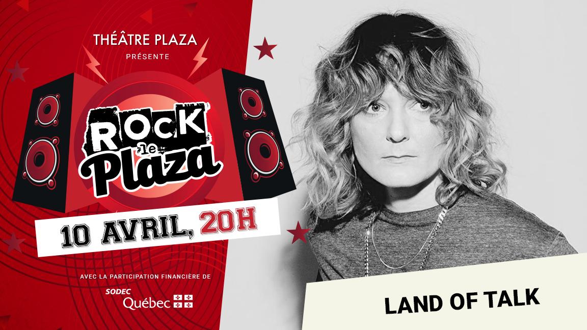 Concert virtuel - Série Rock le Plaza - Land of Talk
