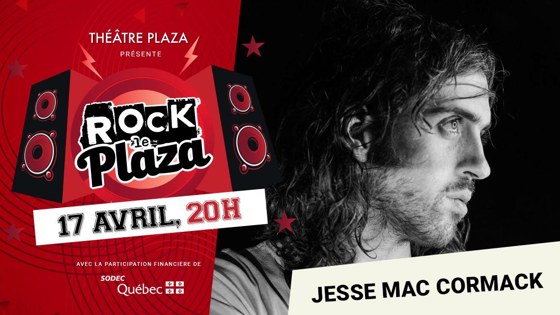 Concert virtuel - Série Rock le Plaza - Jesse Mac Cormack