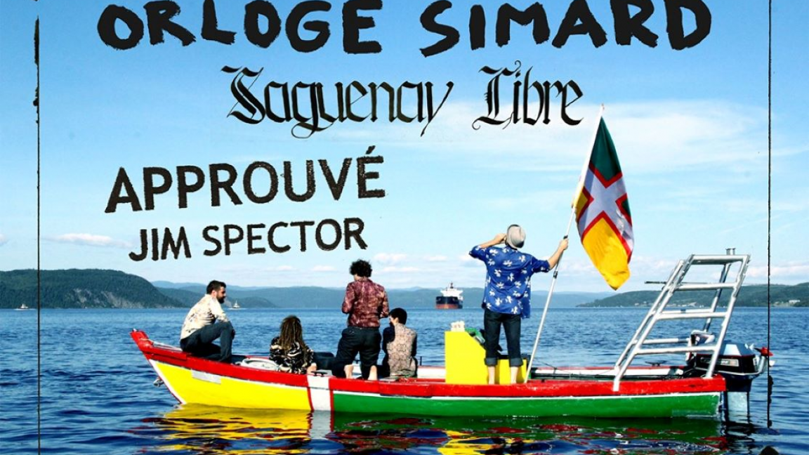 Projection : Orloge Simard - Saguenay Libre