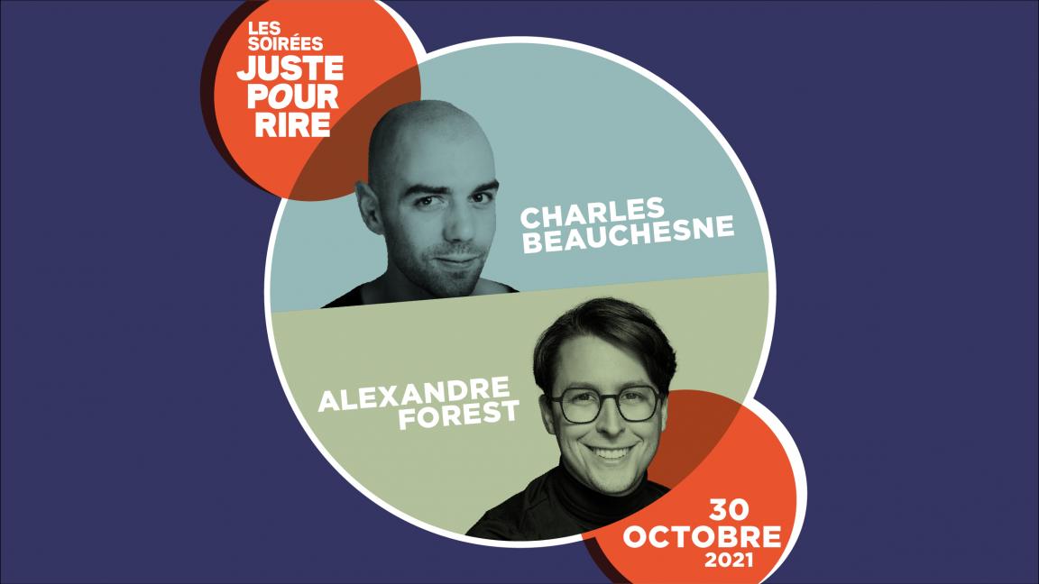 Charles Beauchesne et Alexandre Forest