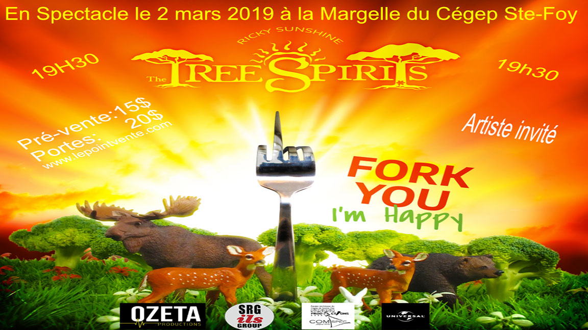 The Tree Spirits ( Fork you i'm happy)