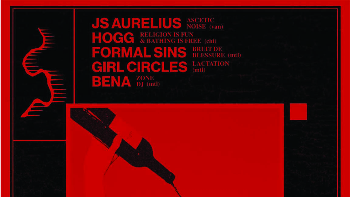 Interzone: JS Aurelius, HOGG, Girl Circles,  Formal Sins