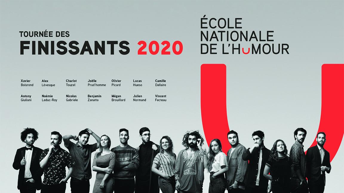 TOURNÉE DES FINISSANTS DE L'ÉCOLE NATIONALE DE L'HUMOUR CUVÉE 2020