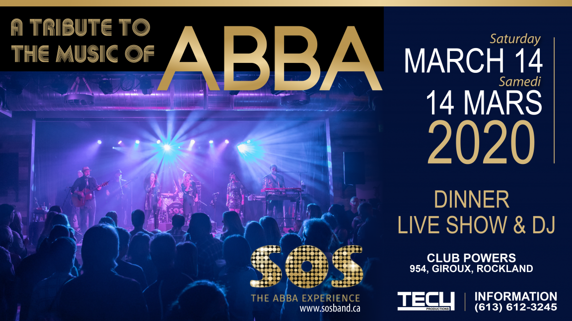 SOS - ABBA Tribute Dinner Show