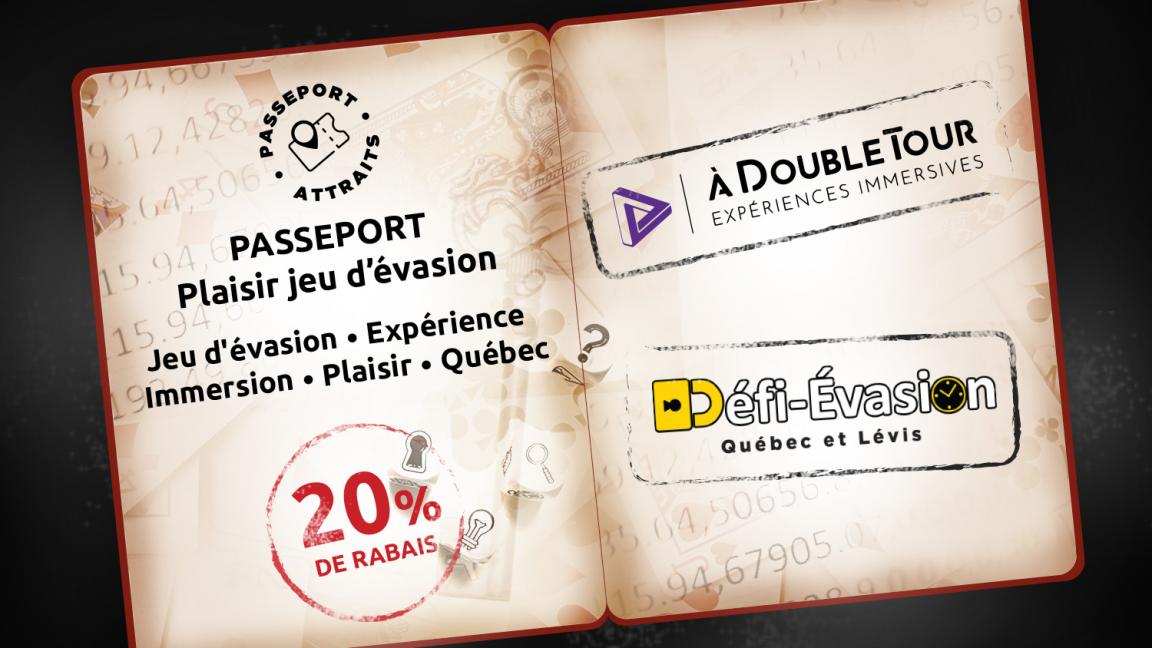 À Double Tour - Passeport Plaisir jeu d'évasion