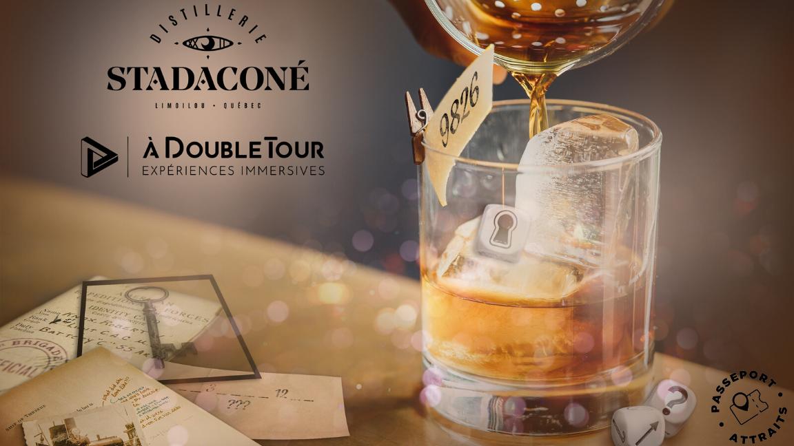 À Double Tour - Passeport Gin et Énigmes