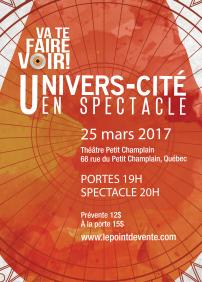 Univers-Cité en spectacle 2017