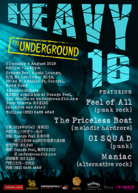 Feel of All, OI SQUAD, The Priceless Boat, Maniac