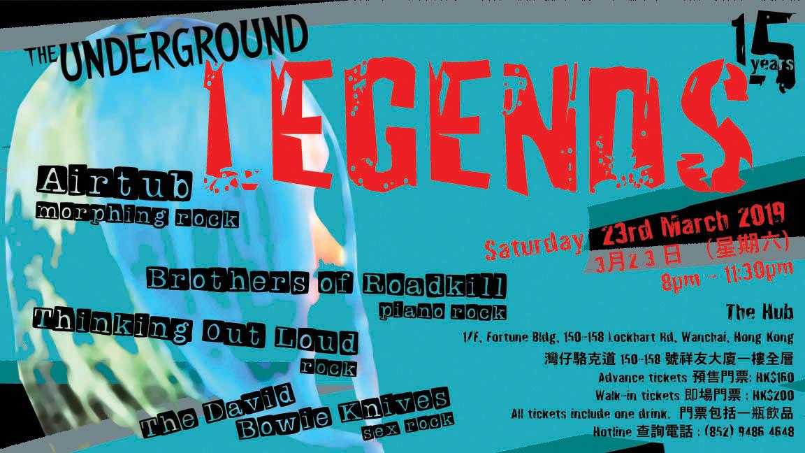 Underground Legends!