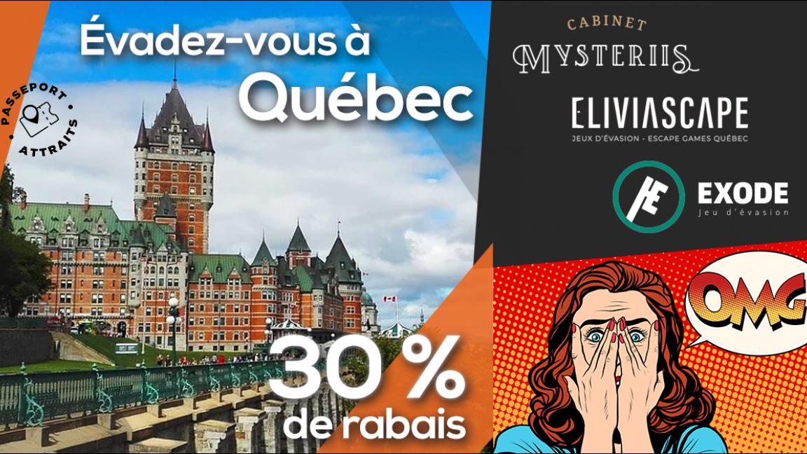 Cabinet Mysteriis - Passeport jeu d'évasion Québec