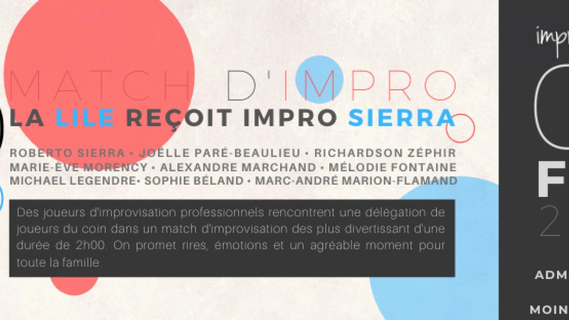 La LILE reçoit Impro Sierra