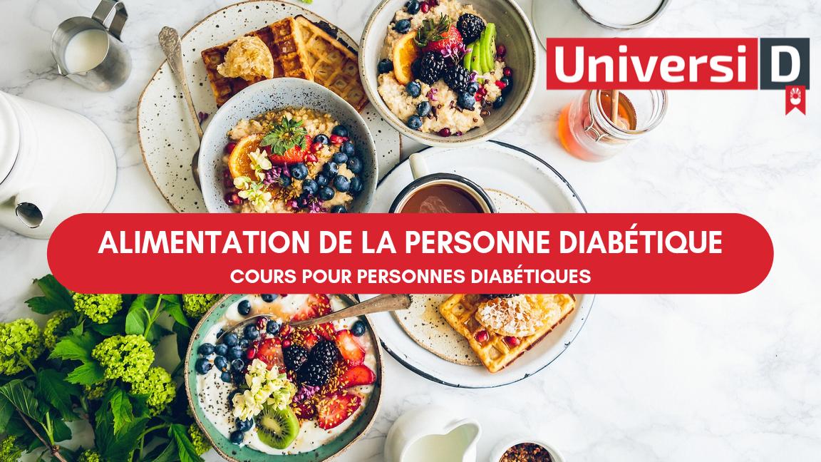 Alimentation de la personne diabétique