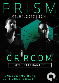OR ROOM (Mtl - Bacchanale)