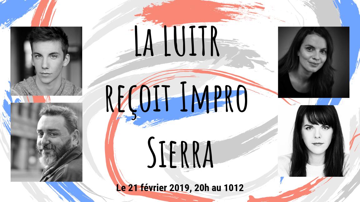 La LUITR reçoit Impro Sierra
