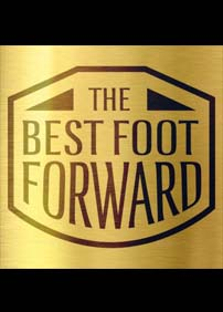 THE BEST FOOT FORWARD