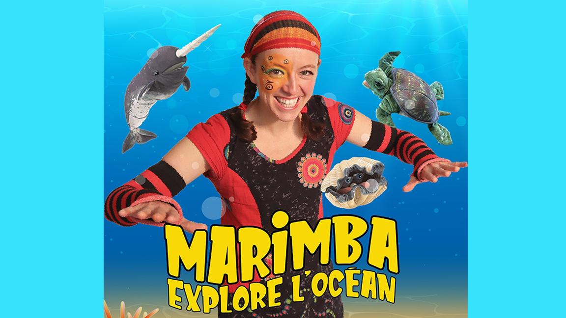 Théâtre ambulant - Marimba explore l'Océan par Animagination