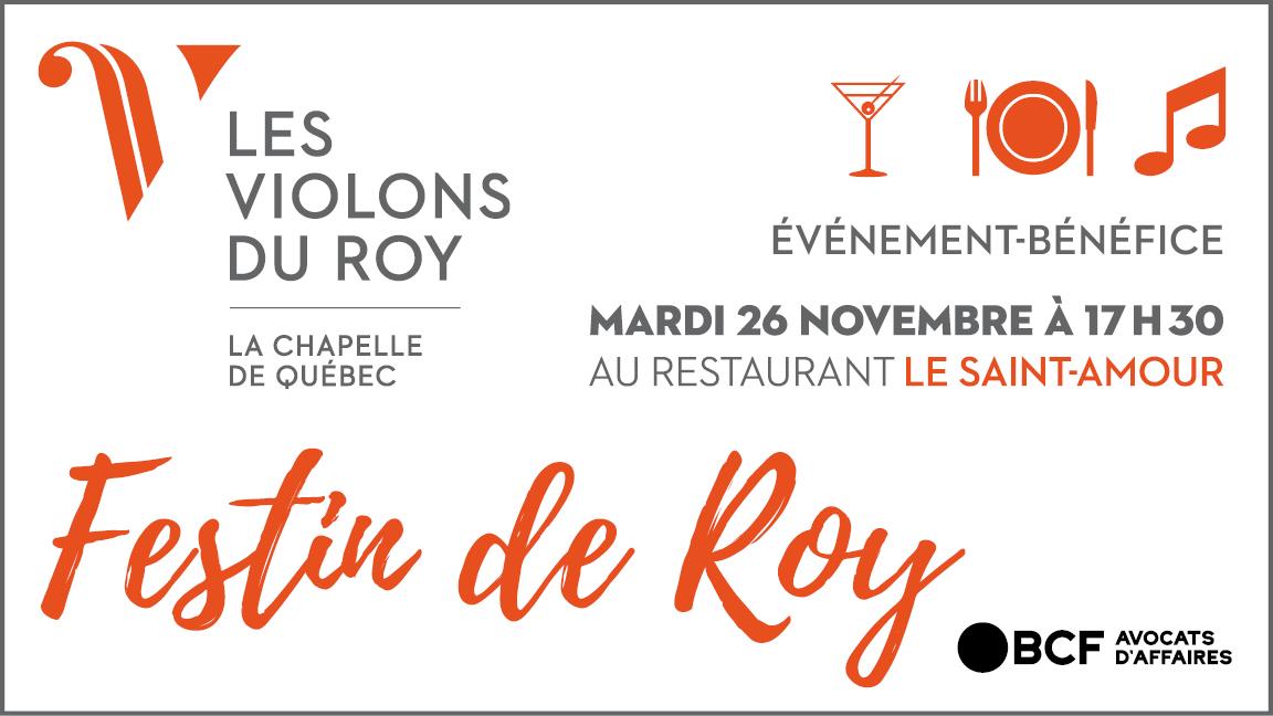 Festin de Roy Québec
