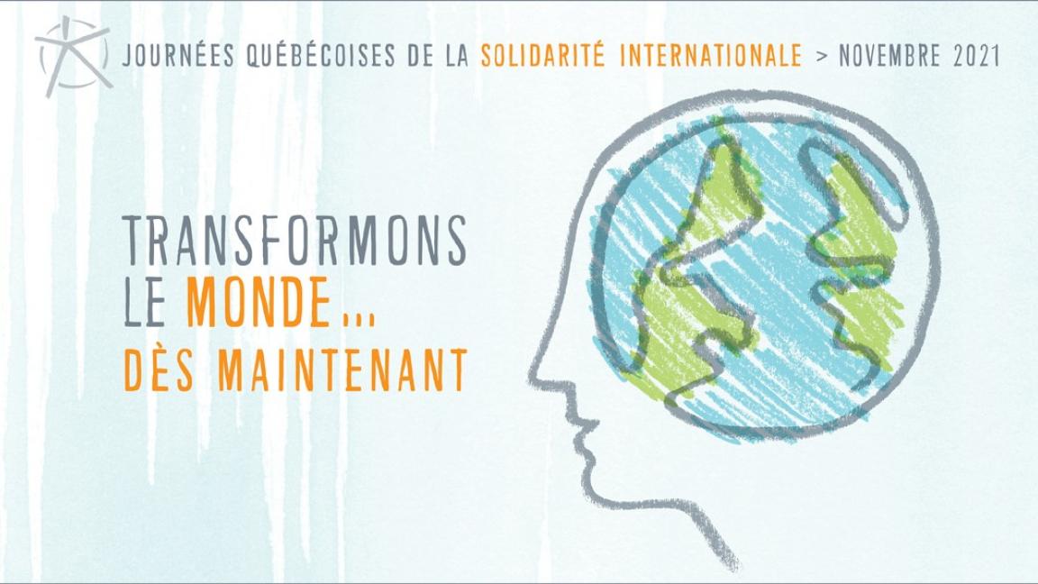 Engager le Québec dans la coconstruction d'un monde juste et solidaire : priorités et pistes d'action