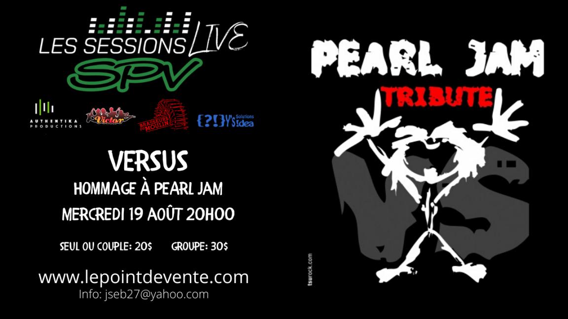Hommage à Pearl Jam - SPV Live Sessions