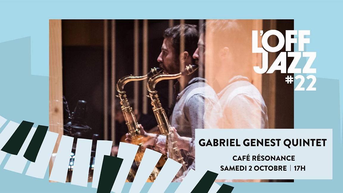 Gabrielle Genest Quintet: Lancement de l'album Triptyque