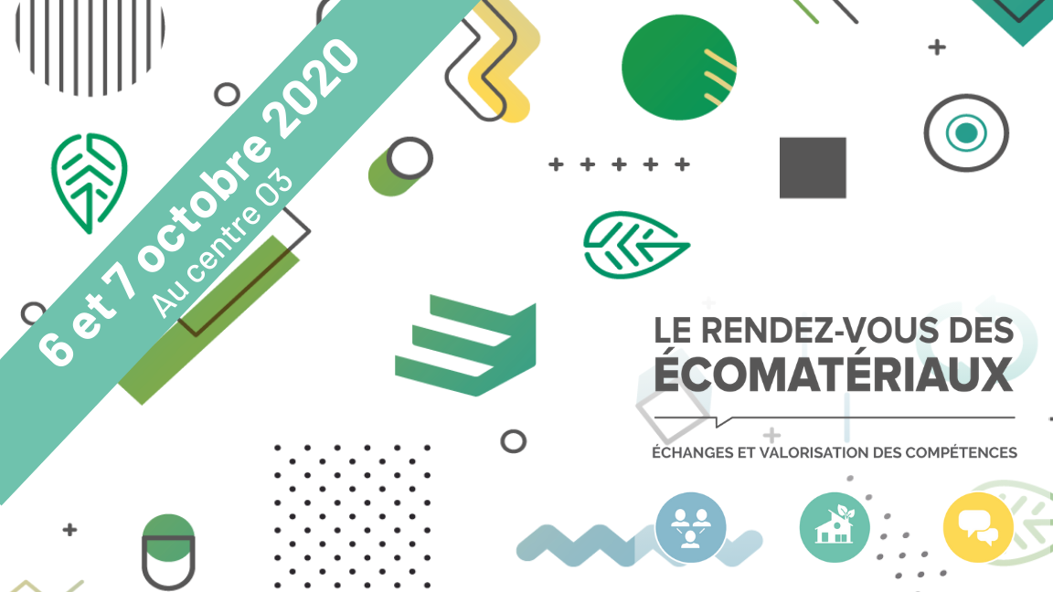 Le RDV des écomatériaux 2020