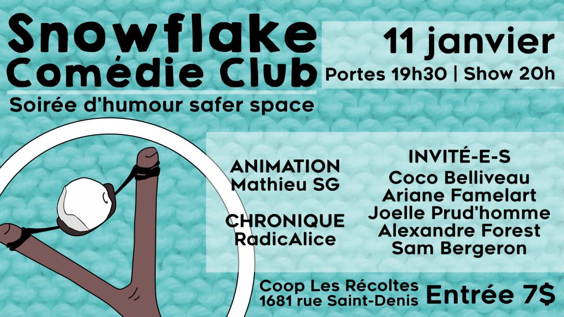 Snowflake Comédie Club #2