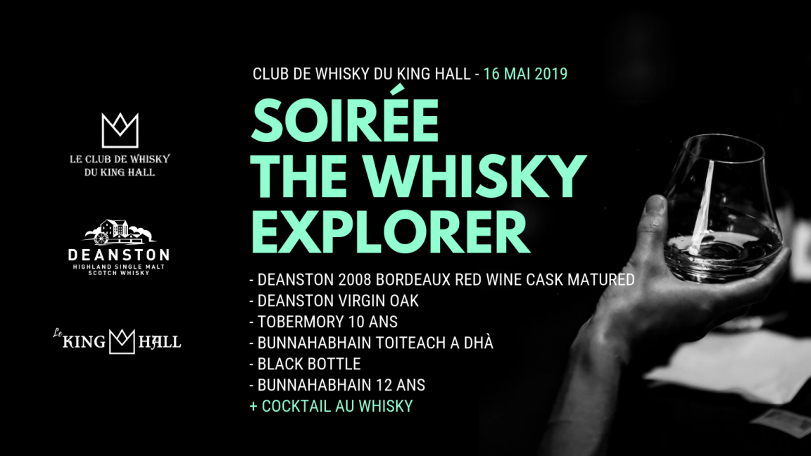 Soirée The Whisky Explorer