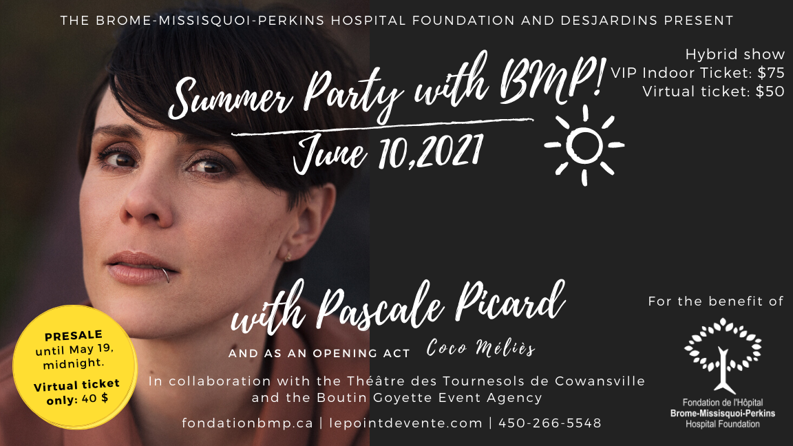 Summer Party with BMP! - Virtual Ticket
