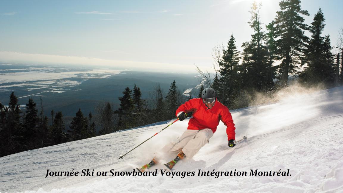 Journée Ski ou snowboard!