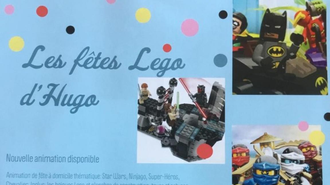Événement surprise Les Fêtes Lego d'Hugo