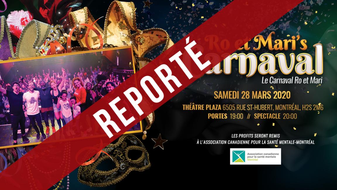 Ro et Mari's Carnaval ***REPORTÉ***