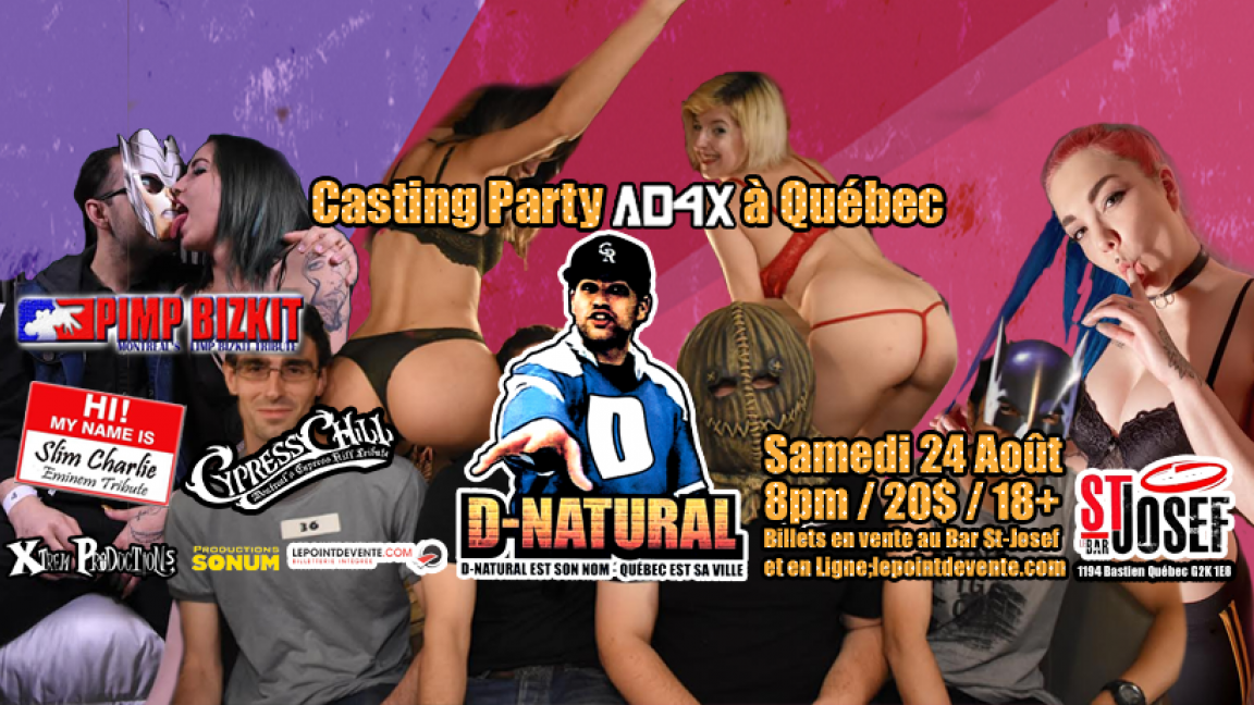 Casting Party AD4X avec D-Natural