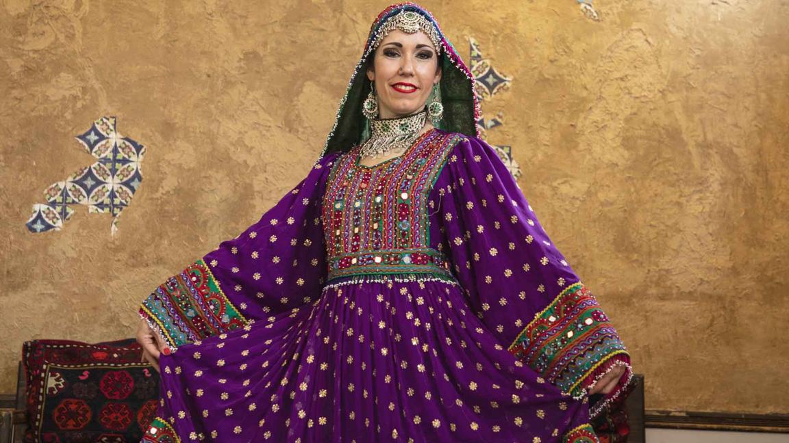 Afghan Dance with Valeska