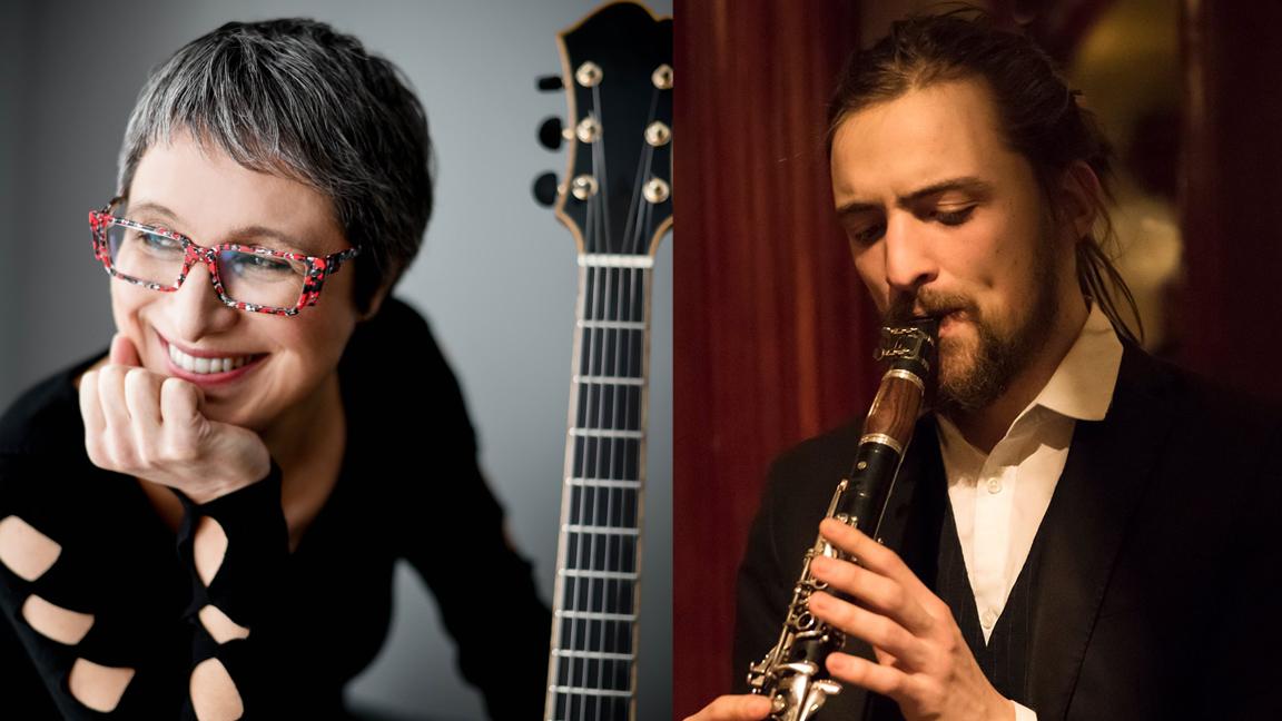 Christine Tassan accompagnée par Aurélien Tomasi - Concert jazz (virtuel)