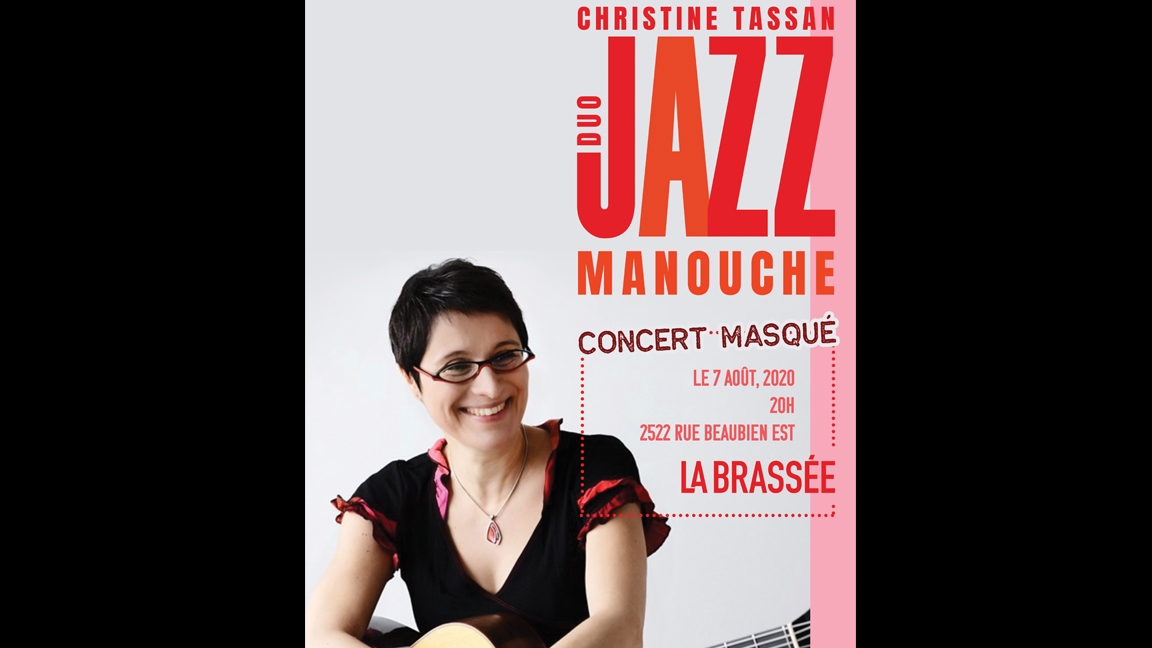 Christine Tassan - Duo jazz manouche à la Brassée (virtuel)