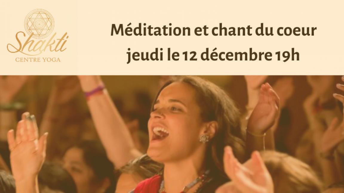 Méditation et chant du coeur