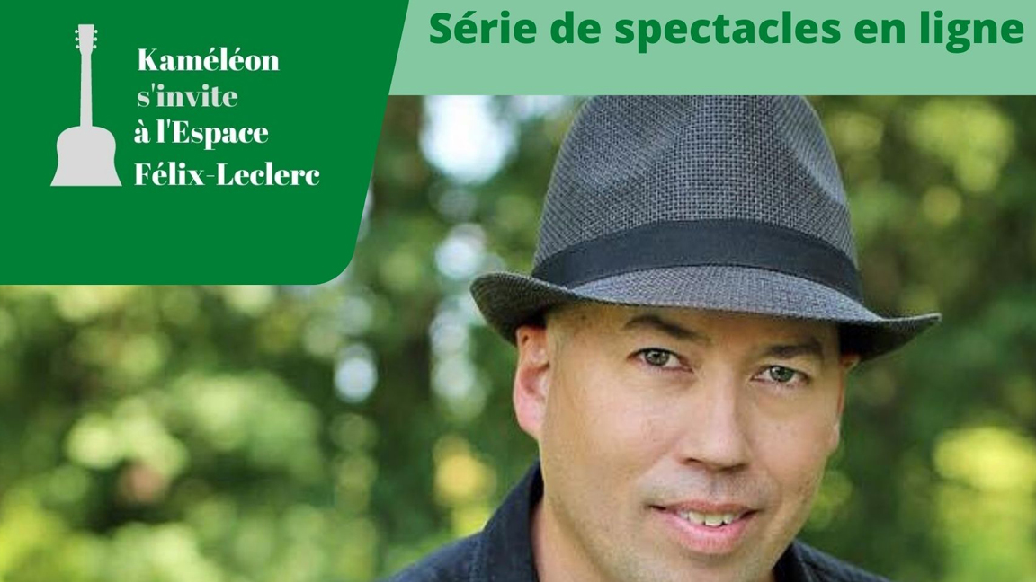 Tomy Paré en solo à l'Espace Félix-Leclerc