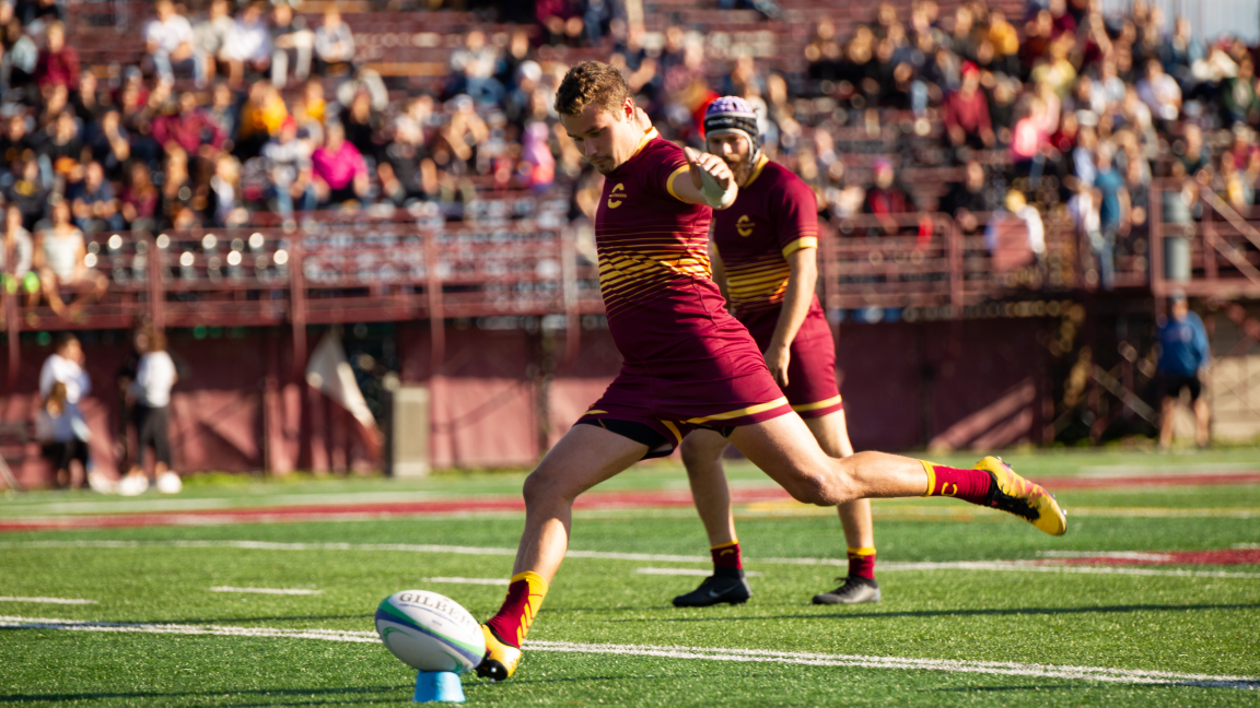 Concordia Stingers Men's Rugby vs. Sherbrooke Vert & Or