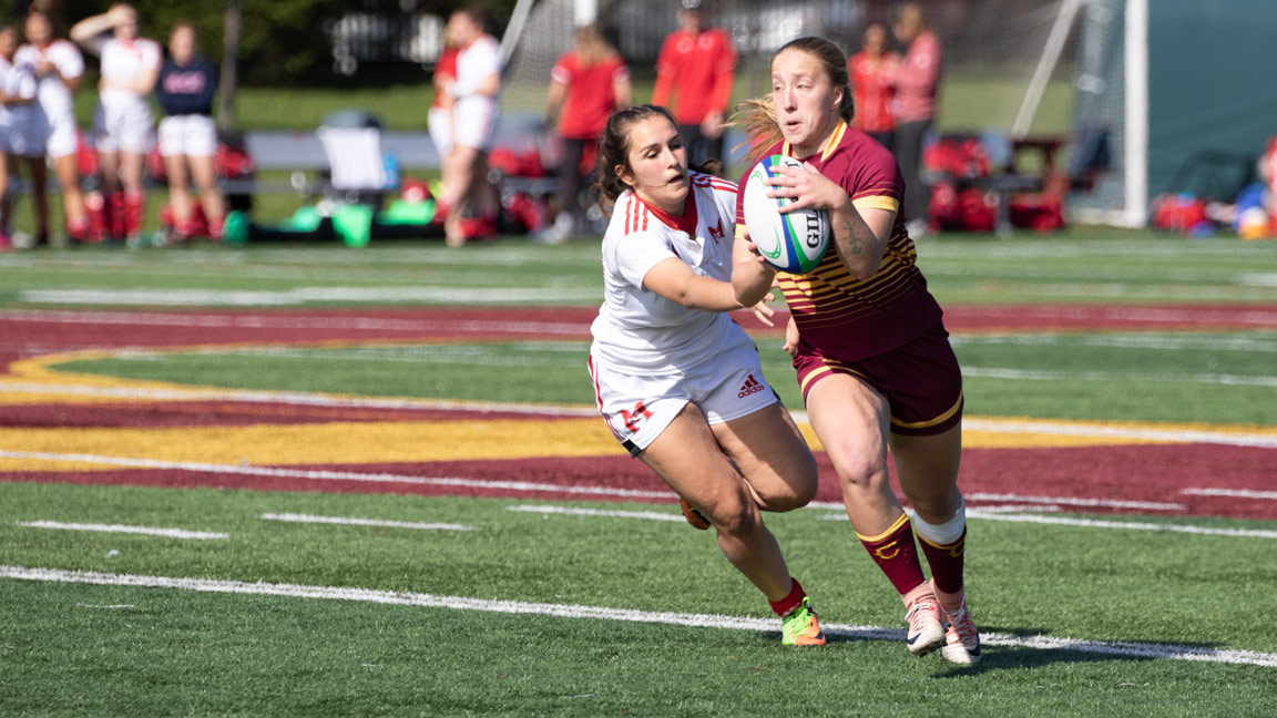 Concordia Stingers Women's Rugby vs. Sherbrooke Vert & Or