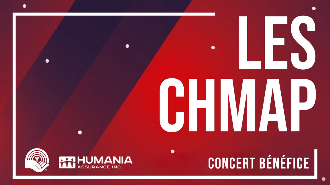 Les CHMAP - concert bénéfice