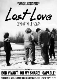 Pouzza présente LOST LOVE – 15 avril 2016 – L'Esco, Montréal, QC