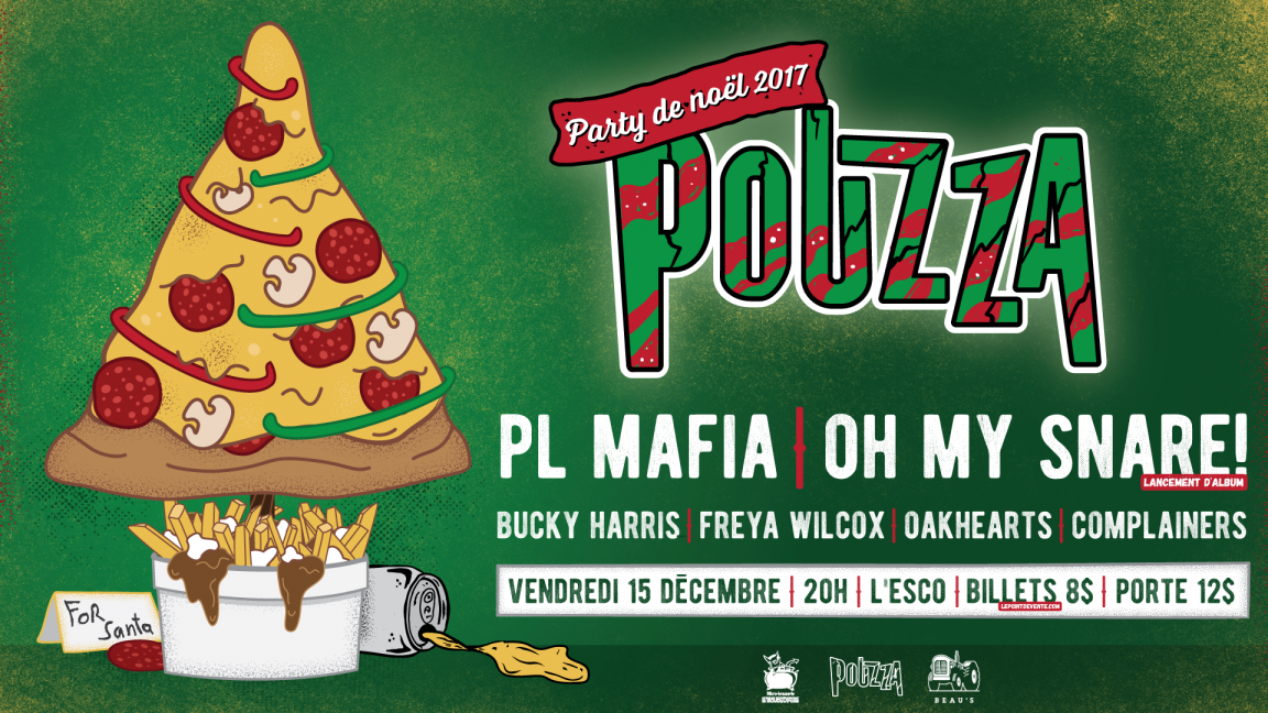 PARTY DE NOËL POUZZA 2017
