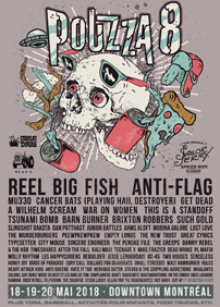 Reel Big Fish, Anti-Flag, MU330, A Wilhelm Scream, Cancer Bats, Get Dead