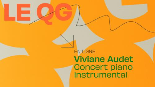 VIVIANE AUDET - concert piano instrumental